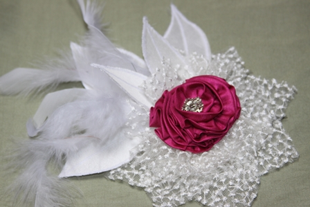 Diy How To Silk Flower Hair Clip Pin Or Corsage Capitol Romance