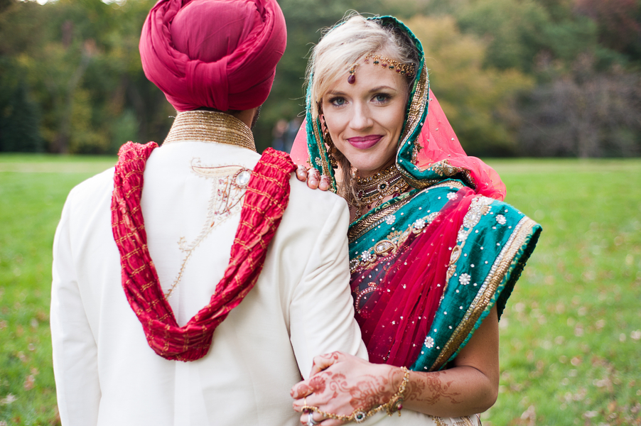 Megan & Pritpal's Traditional Sikh Indian Wedding in