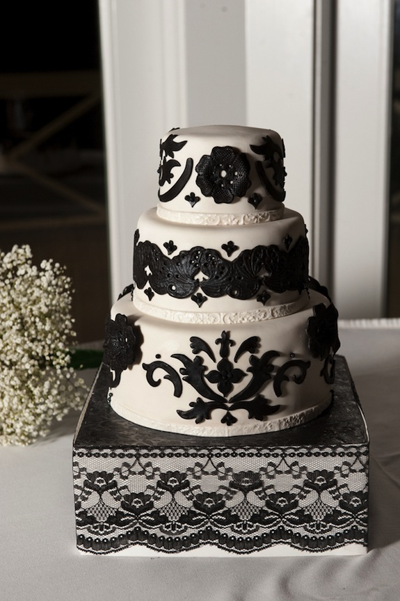zombie black lace wedding cake grooms pictures virginia wedding blog