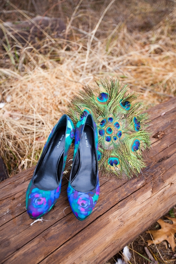 Capitol Inspiration Peacock Wedding Styled Shoot With Diy