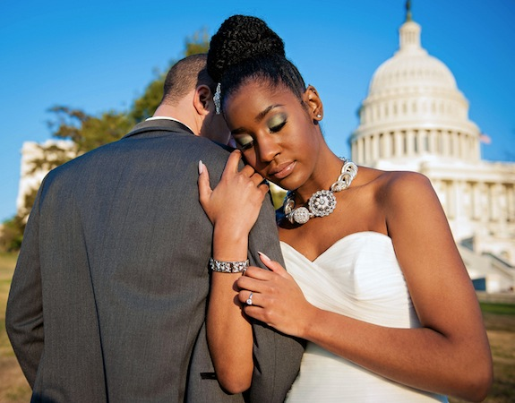 classy green modern DC wedding portraits pictures