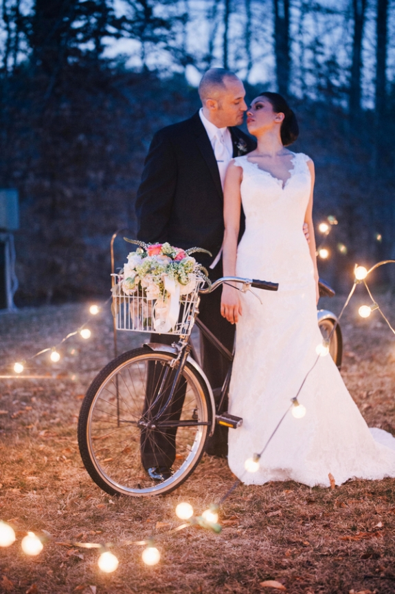 eclectic outdoors virginia wedding gold glitter