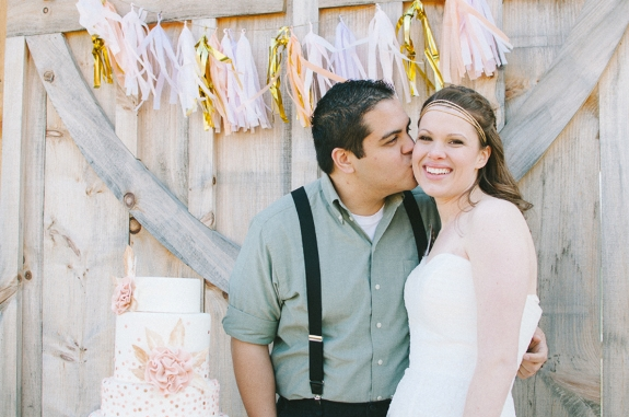 DIY wedding tassle garland