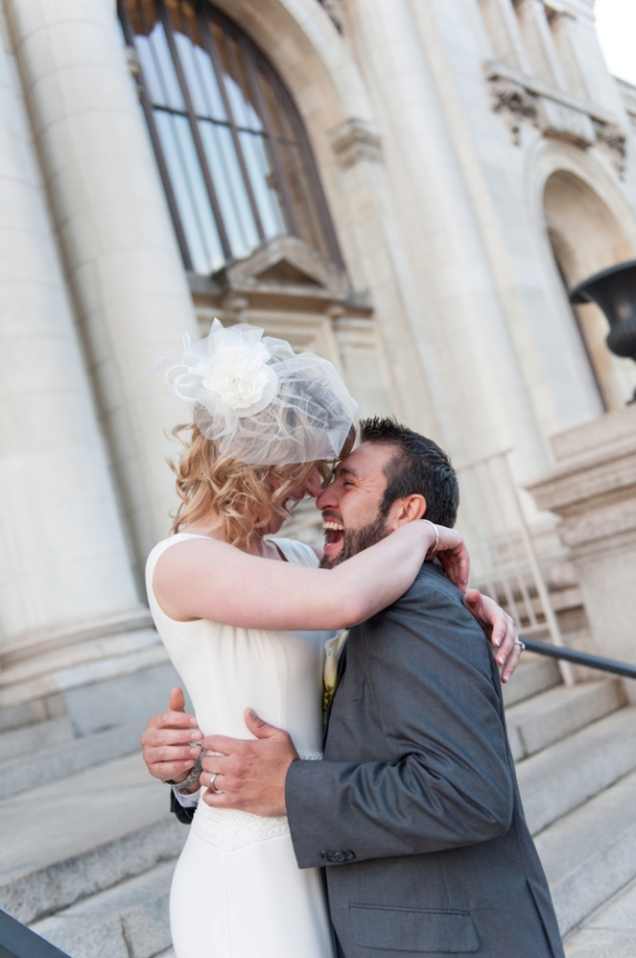 intimate DC wedding small budget cheap 2 weeks planning