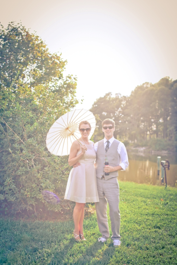 handmade local maryland wedding small budget DIY