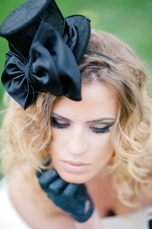 offbeat edgy bridal makeup