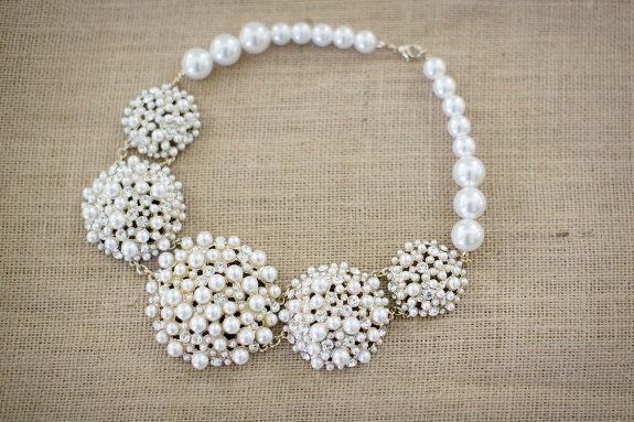 statement necklace bridal