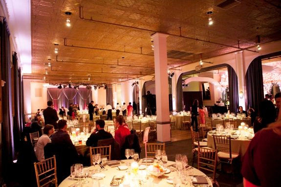 clarendon ballroom modern wedding