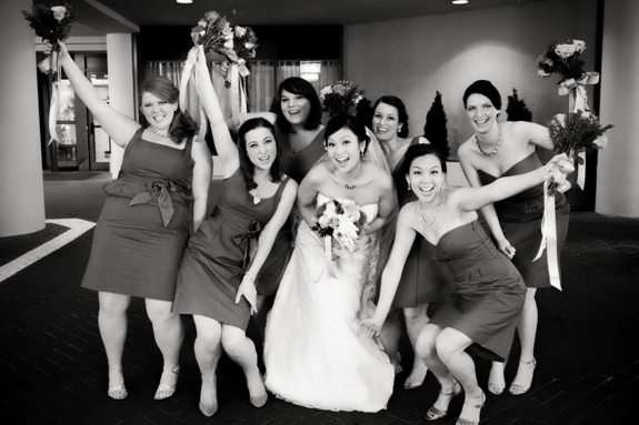 fun bridesmaids pictures dc wedding