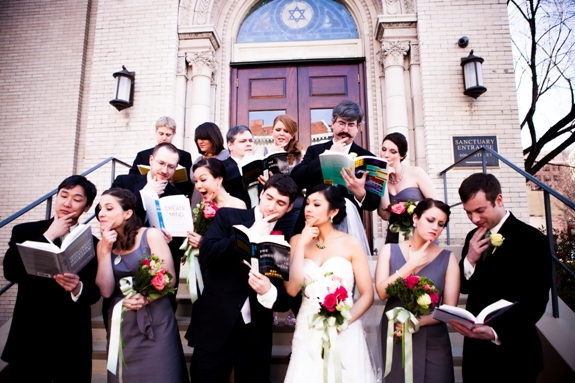 offbeat video game nerdy DC wedding
