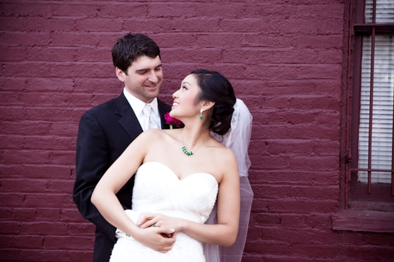 offbeat modern washington dc wedding