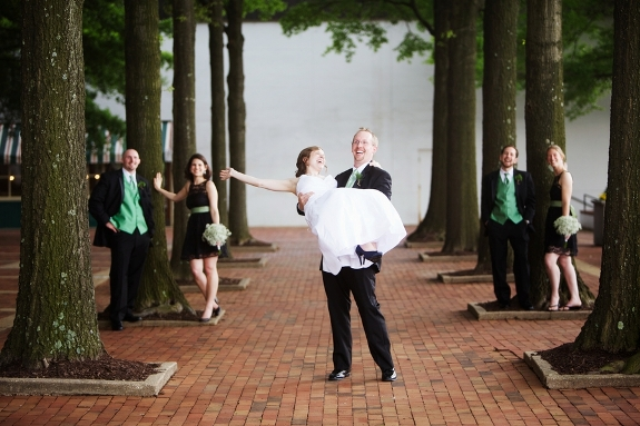 offbeat quirky Virginia wedding