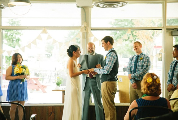 offbeat alternative virginia wedding
