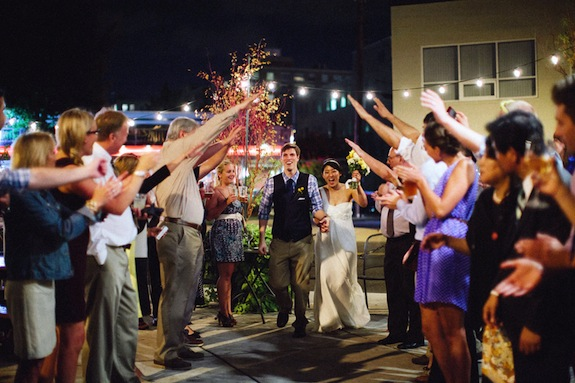 offbeat alternative virginia wedding coffee shop