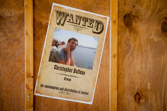 wedding wanted posters