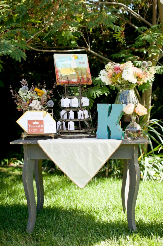personalized musical festival themed wedding