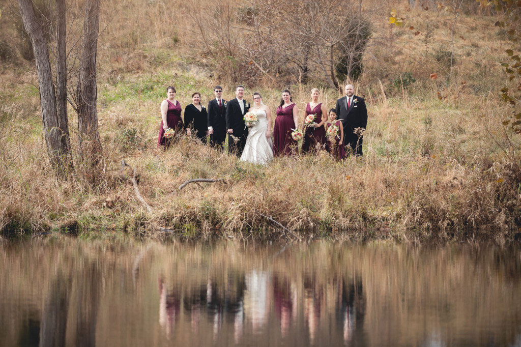 fall maryland wedding