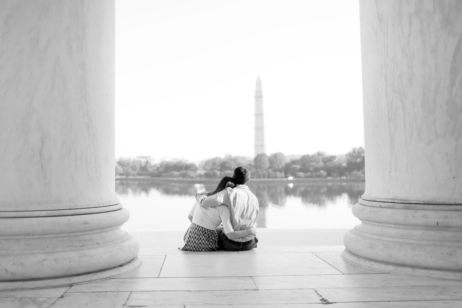 Washington DC engagement pictures