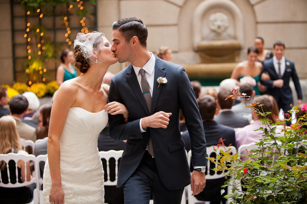 modern dc wedding ceremony