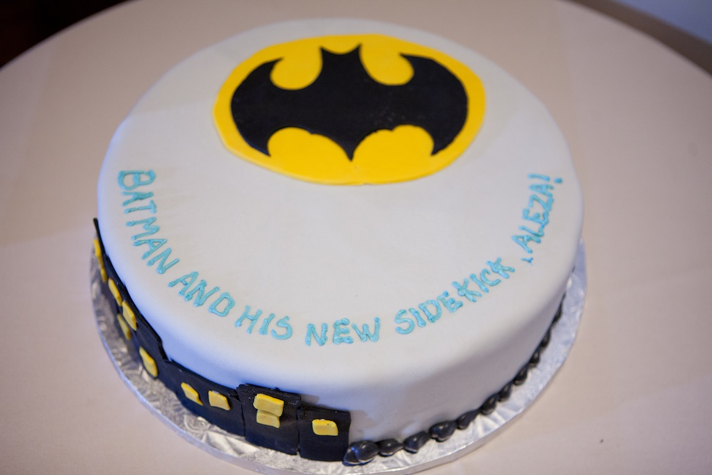 batman grooms cake superhero