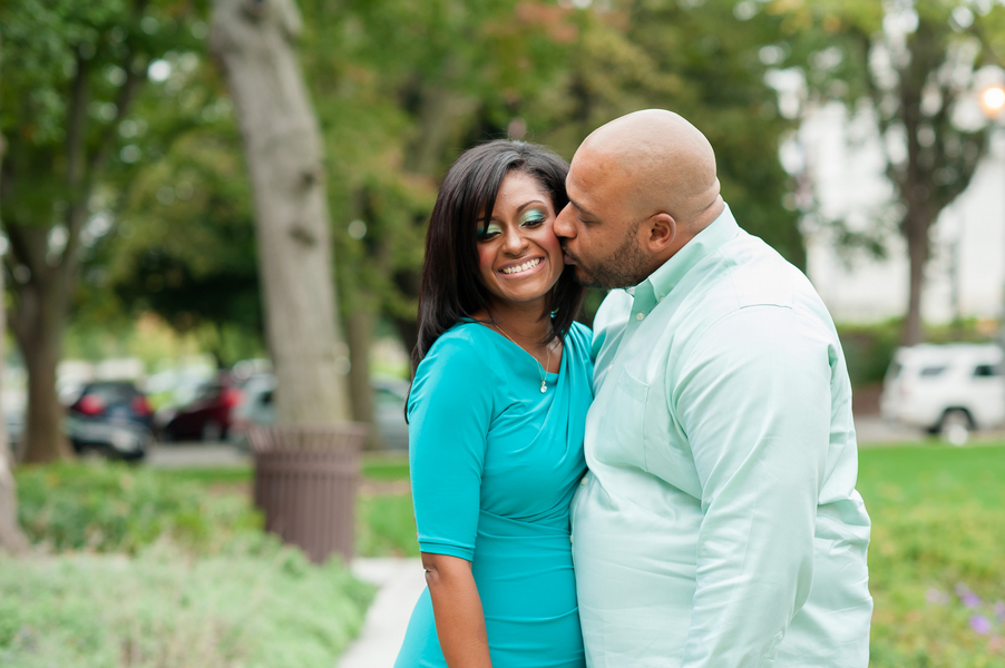 downtown DC engagement pictures