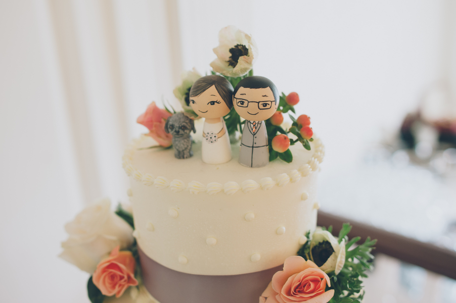 custom painted cake toppers
