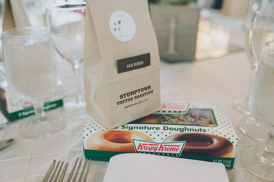krispy kreme wedding favors