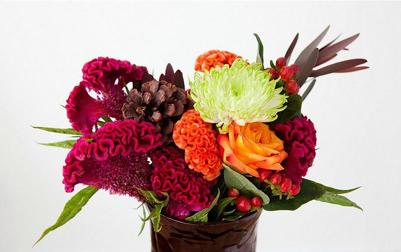 fall unique floral centerpieces