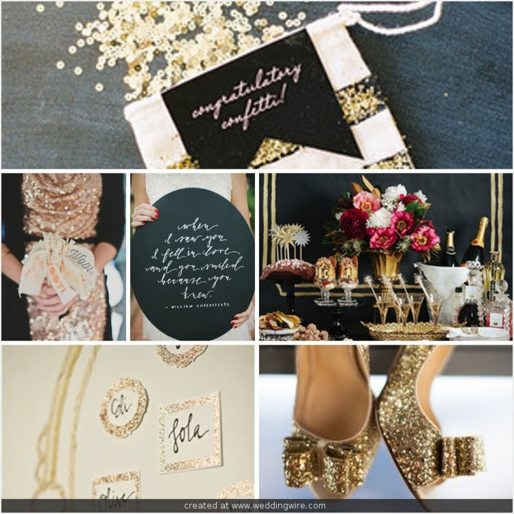 New Years Inspiration Board