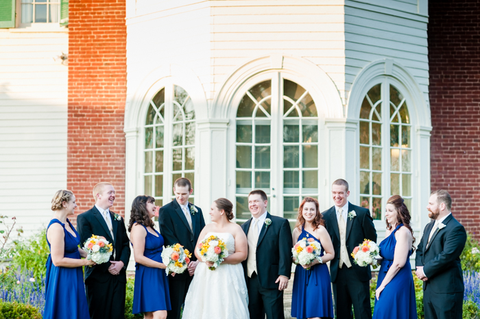 intimate fall Virginia wedding