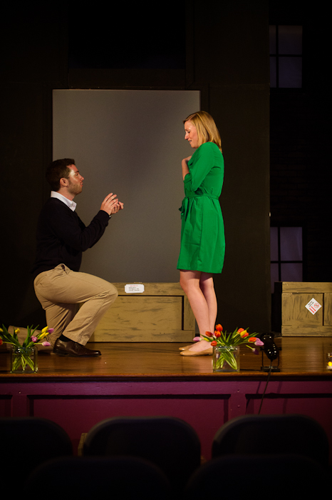 surprise proposal video DC theater