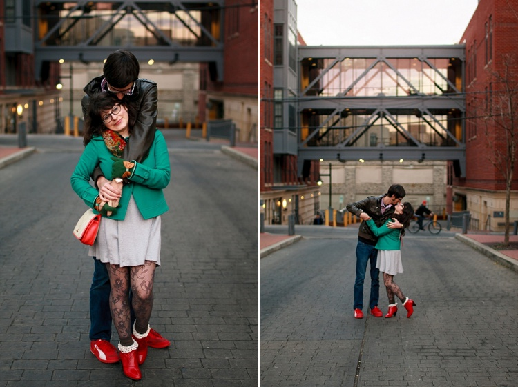 hipster dc engagement pictures