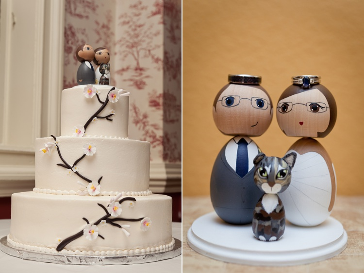 custom wood doll cake toppers