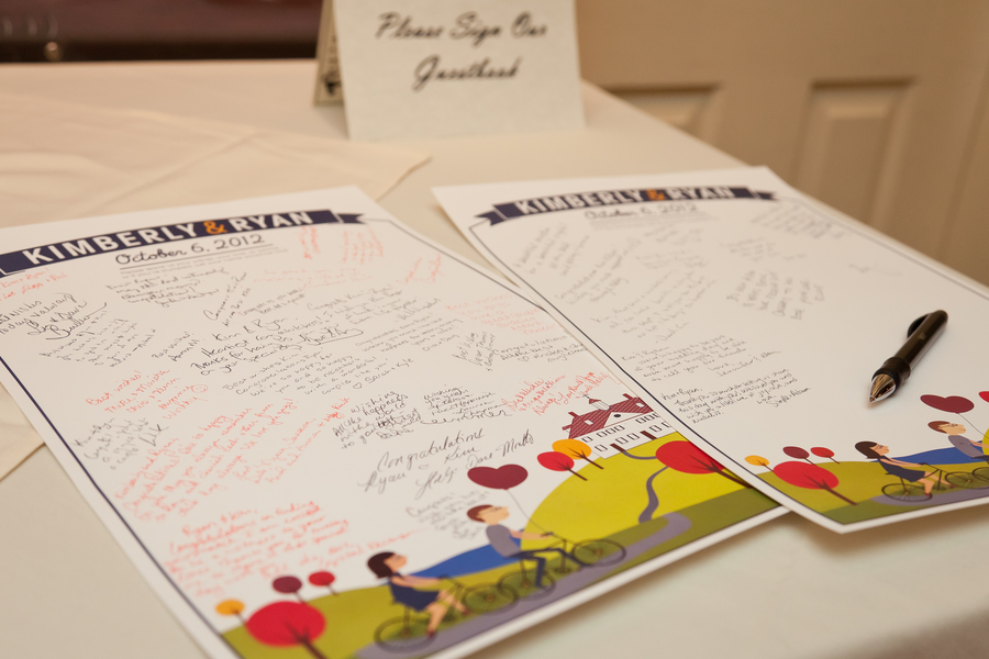 dc themed guest book