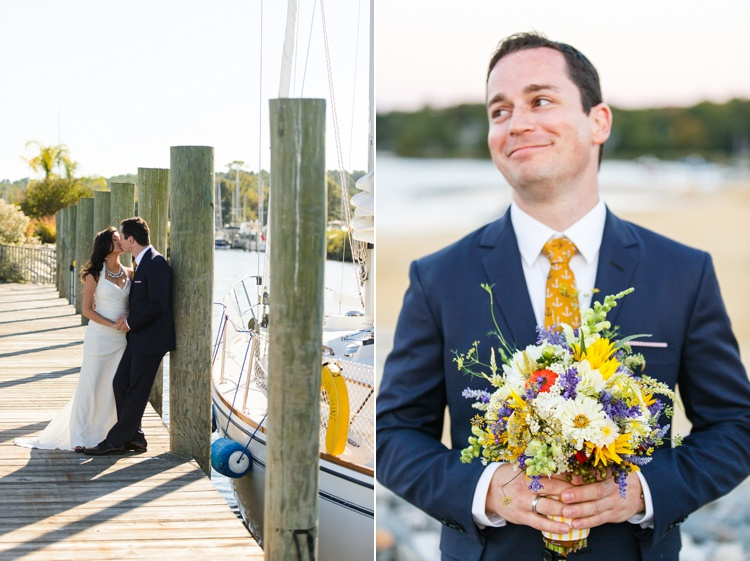 offbeat alternative nautical maryland wedding