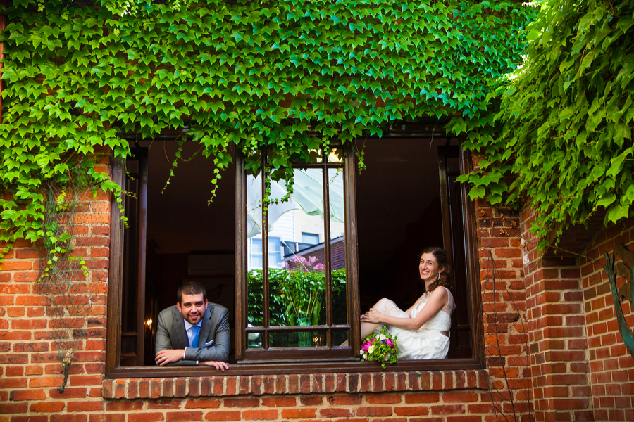 offbeat intimate small budget DC wedding