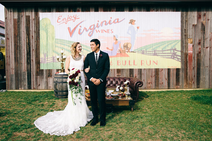 burgundy berry elegant winery wedding inspiration details