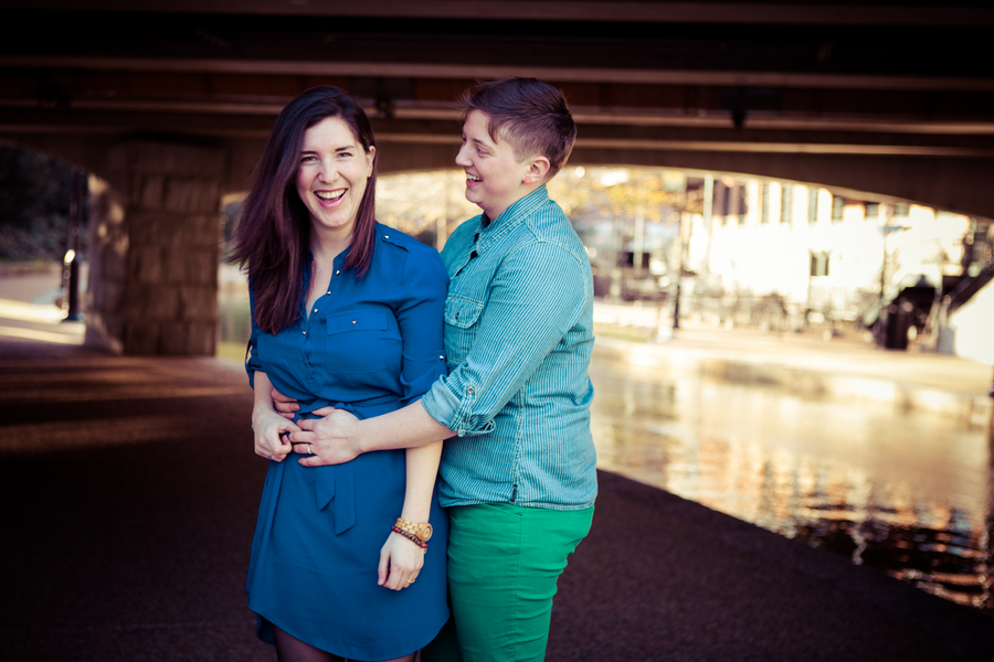 same sex libby hill park engagement pictures