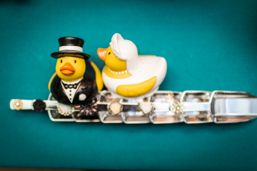 offbeat virginia wedding cake toppers rubber ducks