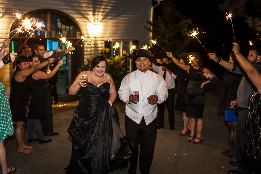 offbeat rosemont manor wedding