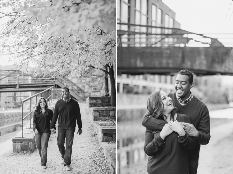 washington dc engagement pictures georgetown