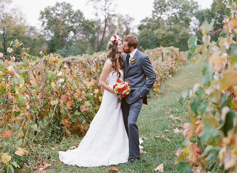whimsical boho Virginia wedding