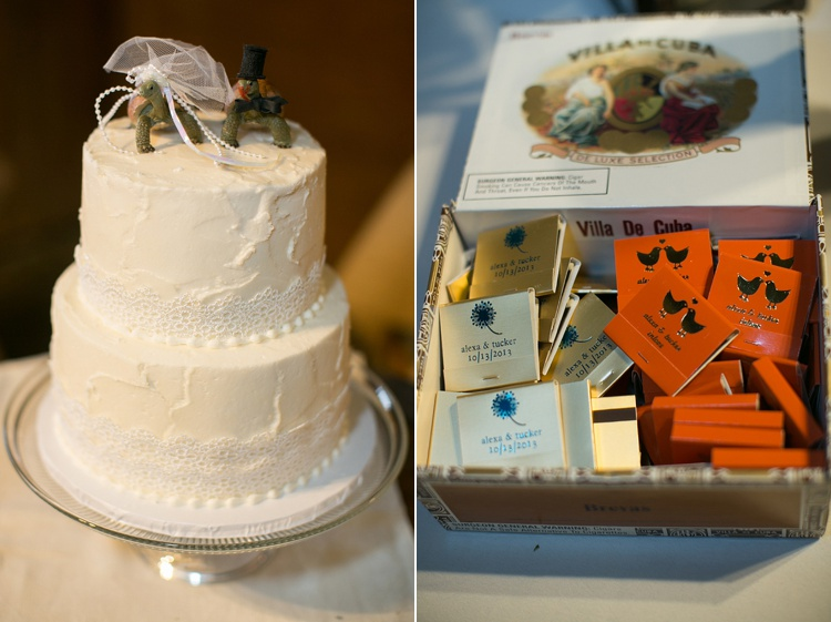 rustic wedding cake sweets by e
