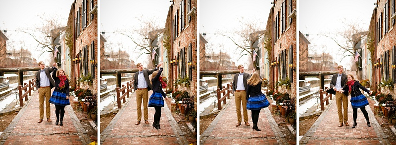 Cait Amp Bill S Chilly Washington Dc Engagement Pictures In