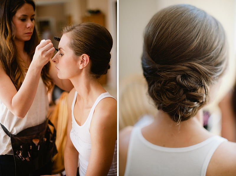 simple bridal hairstyle 2014
