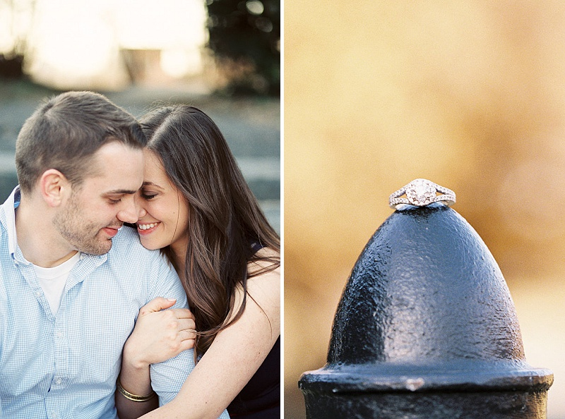 DC mall engagement pictures