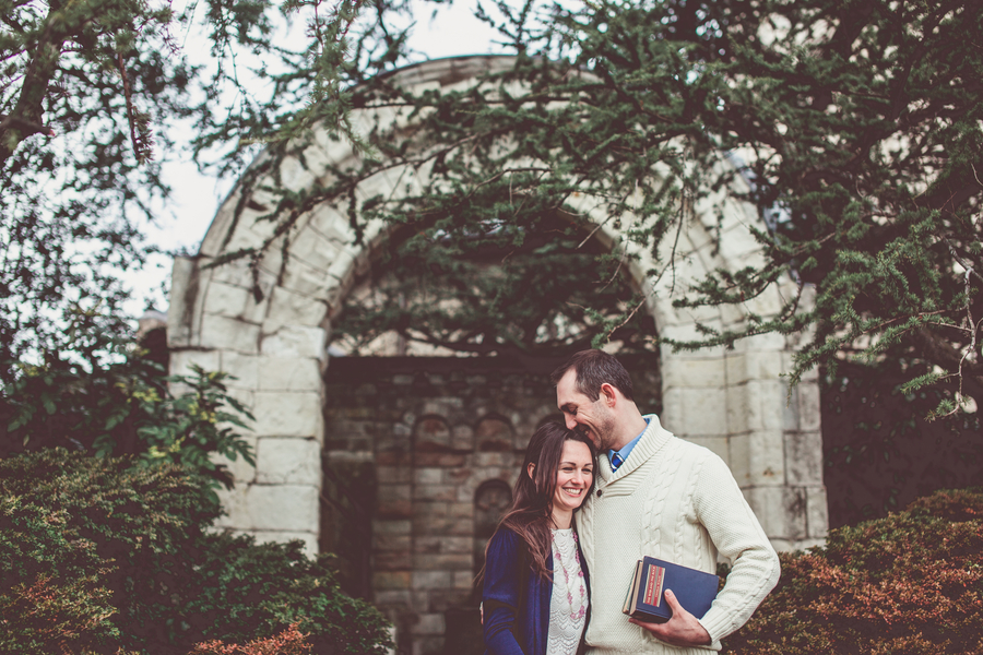 national cathedral engagement pictures