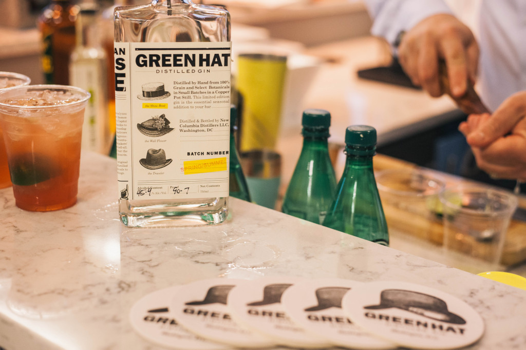 local dc food dinner party green hat gin