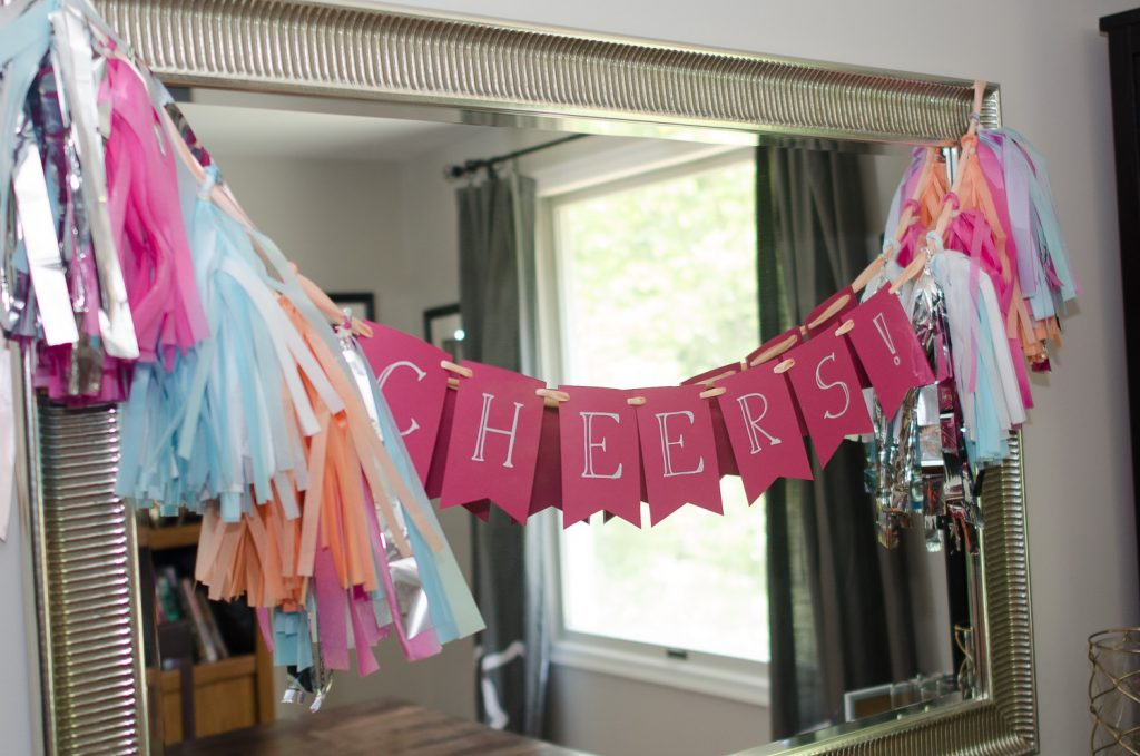 Diy Tutorial How To Make A Diy Tissue Paper Tassel Garland Sign Capitol Romance Practical Local Dc Area Weddings