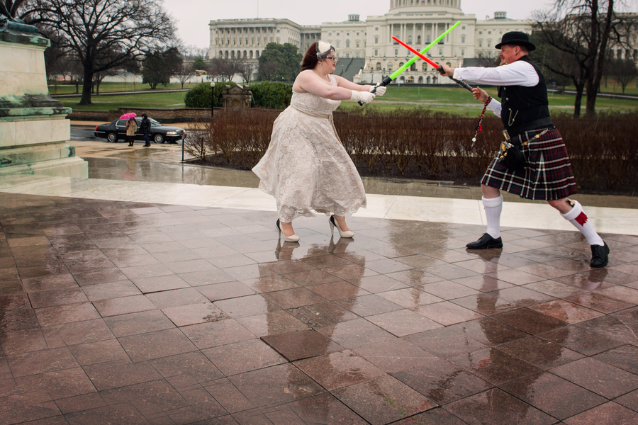 offbeat intimate Washington DC wedding (25)